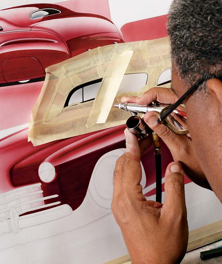 1136sr-05-o+illustrator-steve-stanford+airbrushing