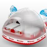 kinder igloo - expo refrigerato avancassa per semifreddi Kinder
