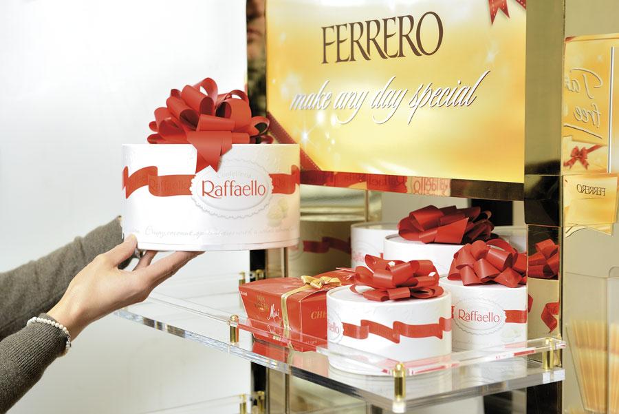 luxury Expo Ferrero praline