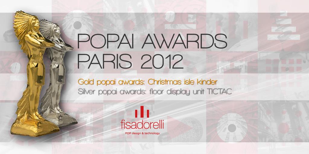 POPAI AWARDS PARIS 2012